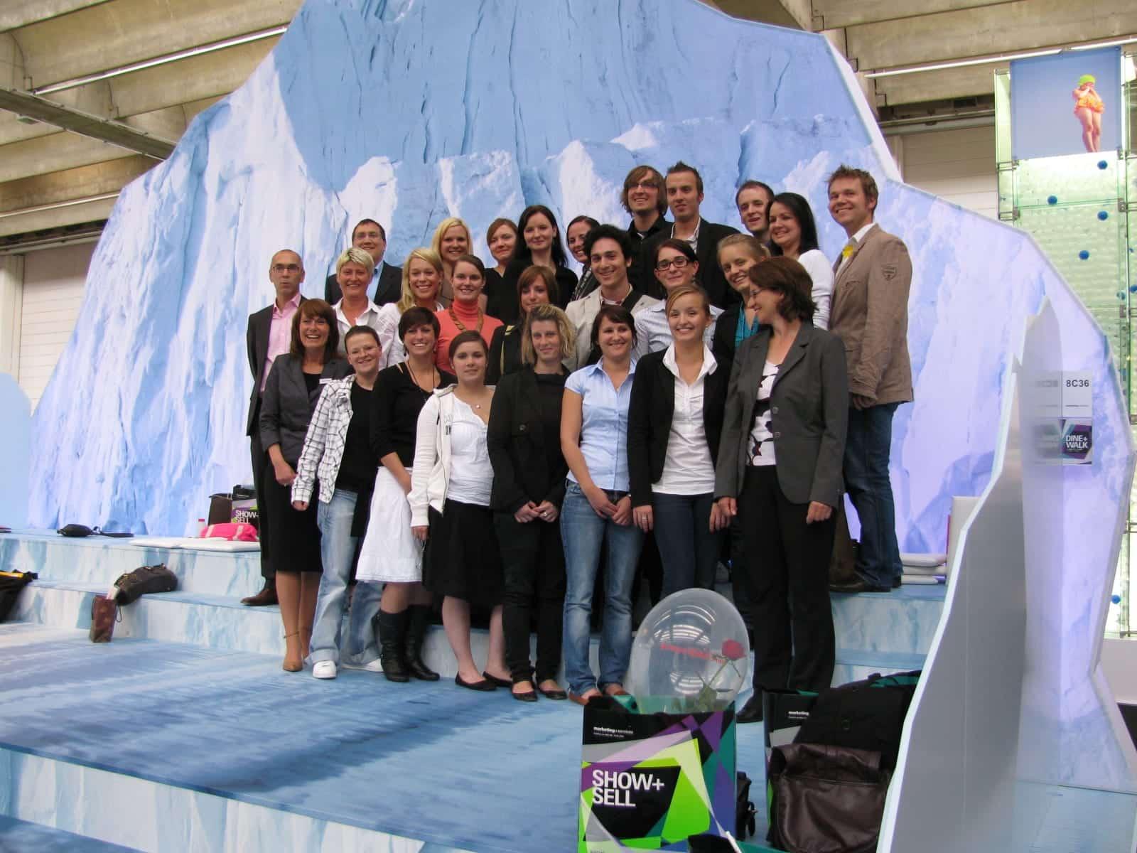 DHBW Mannheim: Vorlesung Messebau einmal anders