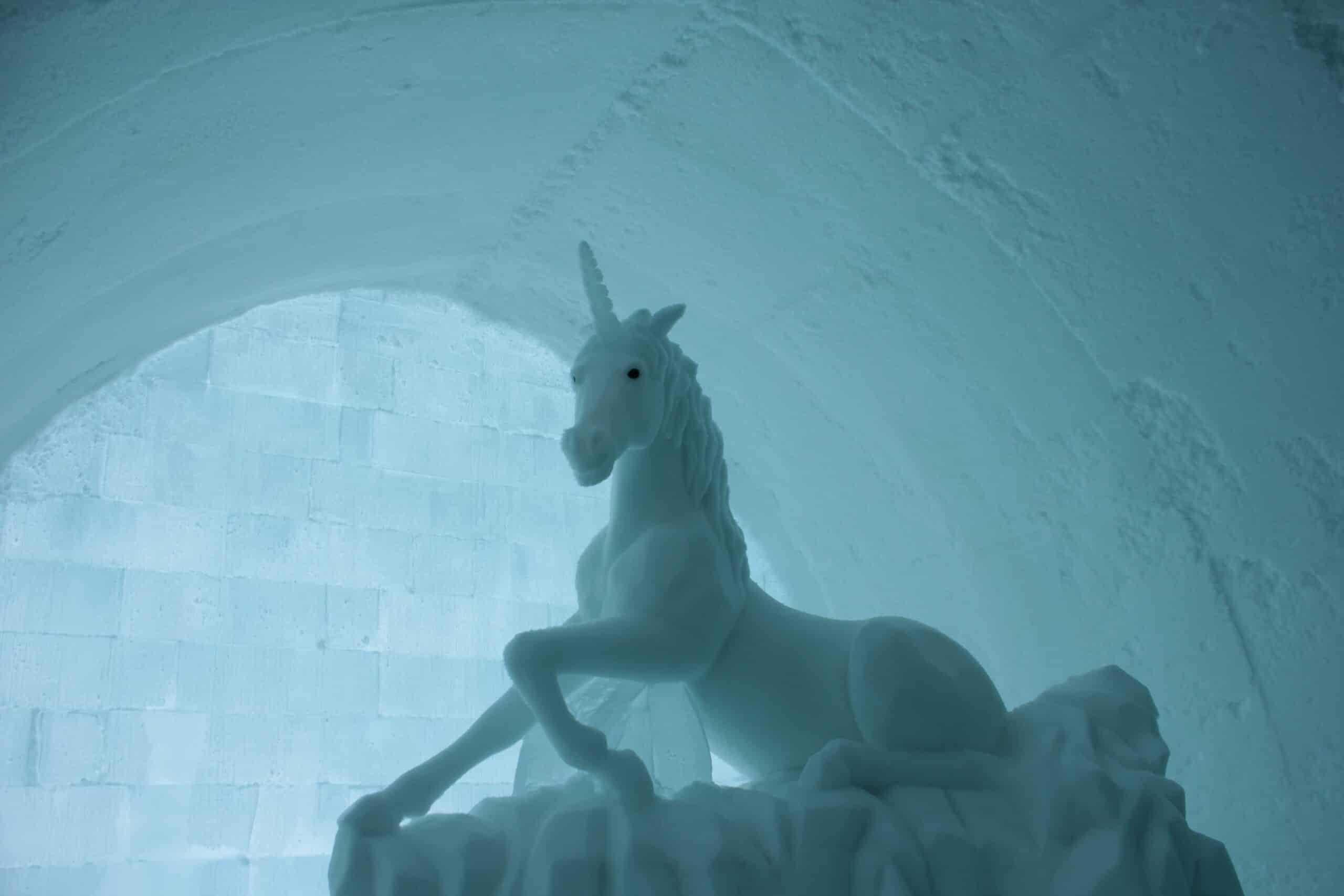 Eiskalte Kunst in Nordschweden