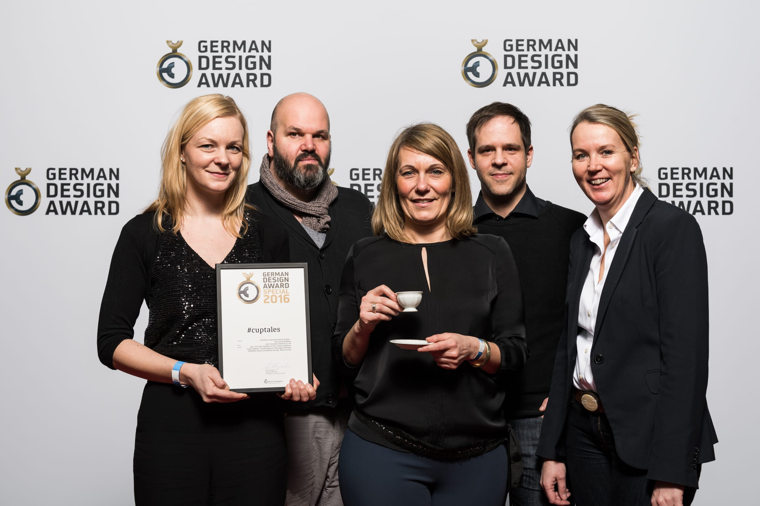 German Design Award für #cuptales