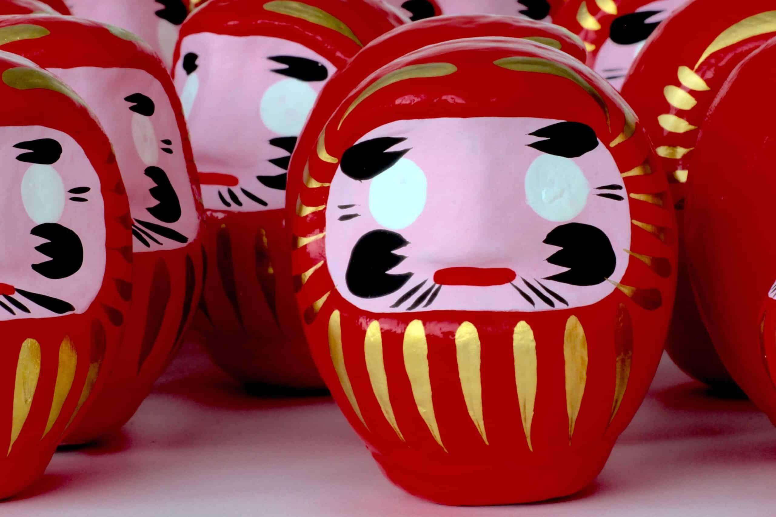 Der Daruma: ein japanischer Glücksbringer