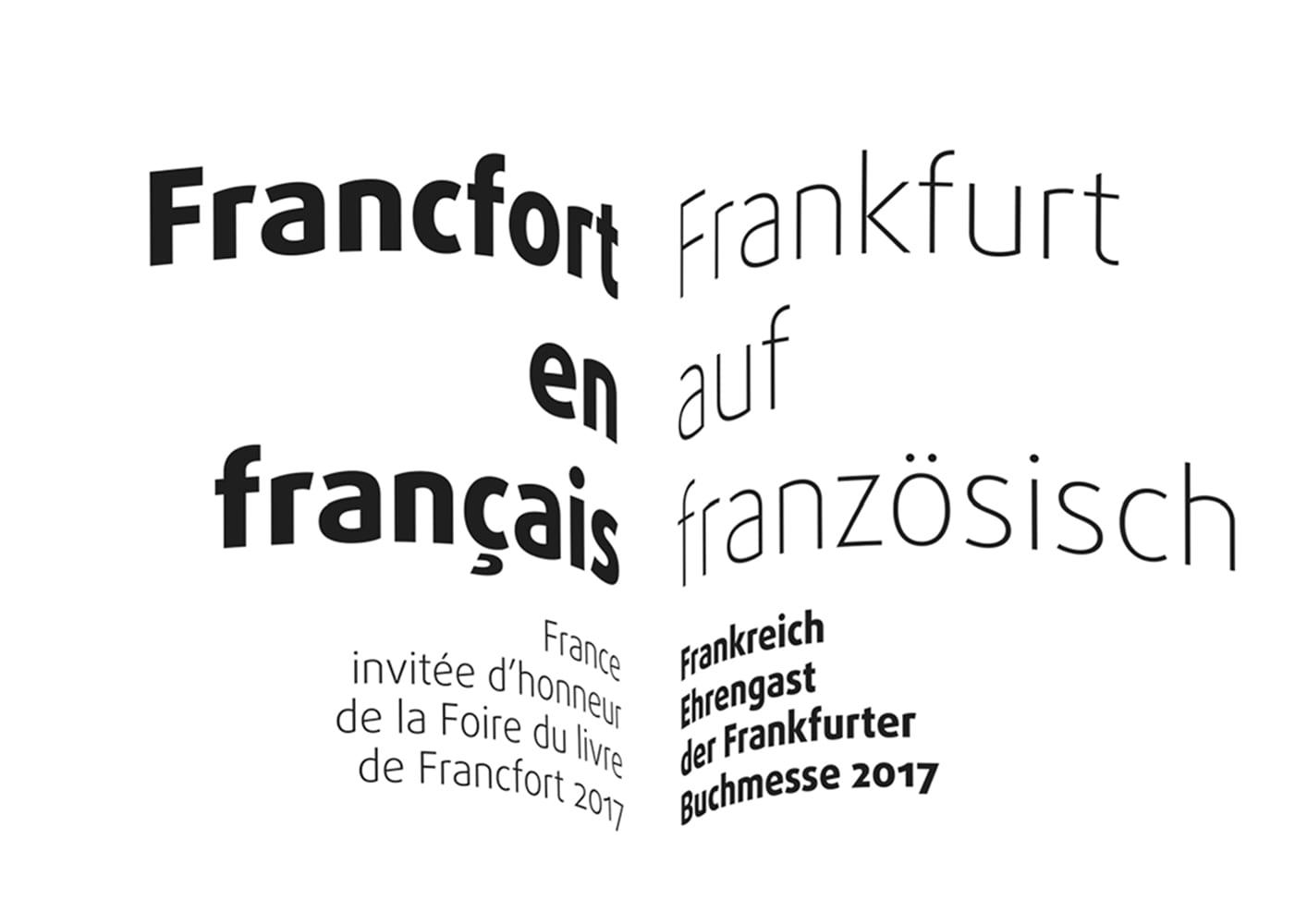 Frankfurter Buchmesse 2017: Francfort en français