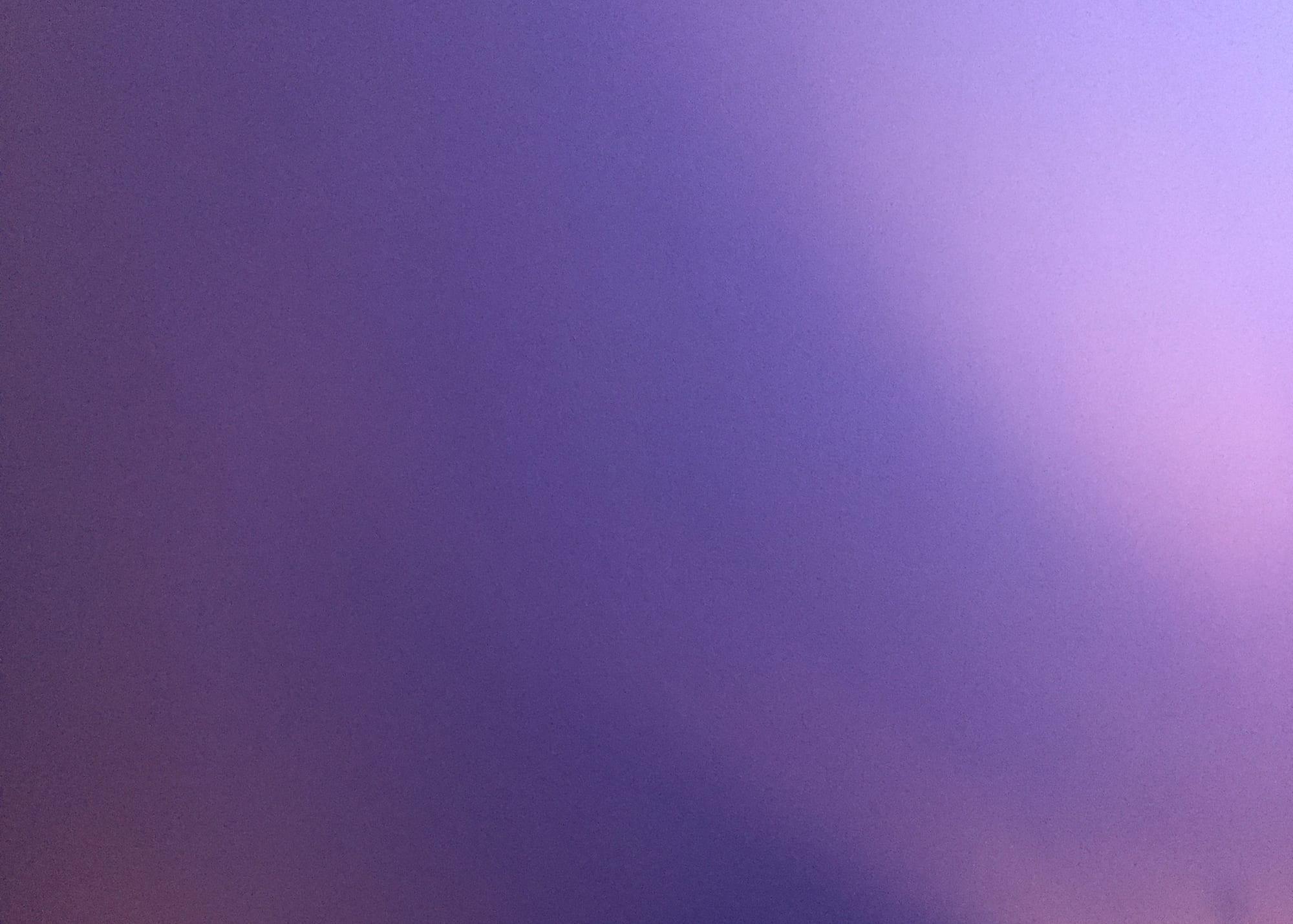 Violett – die Farbe der Impressionisten