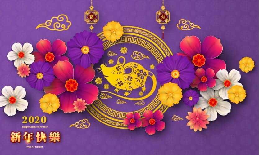 Happy chinese new year! Das Jahr der Metallratte verspricht ein Jahr des Neuanfangs